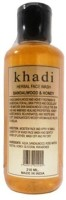 Khadi Herbal Sandalwood & Honey Face Wash (210 Ml)