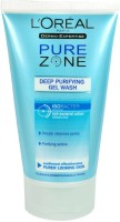 L'Oreal Paris Pure Zone Deep Purifying Gel Wash Face Wash (150 Ml)