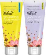 AromaMagic Face Washes AromaMagic Grape Fruit ,Lavender Face Wash