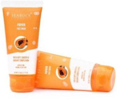 Seabuck Essence Face Washes Seabuck Essence Papaya Face Wash Set Of Two Face Wash