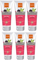 VLCC Insta Fair & Glow Clear Skin Face Wash Pack Of 6 Face Wash (50 Ml)