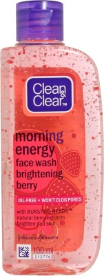 Buy Clean & Clear Morning Energy - Brightening Berry Face Wash: Face Wash