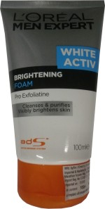 L 'Oreal Paris Face Washes L 'Oreal Paris Men Expert Brightening Foam Face Wash
