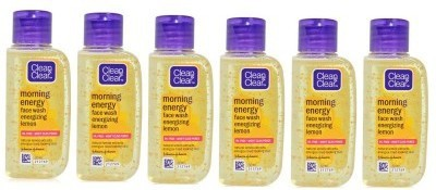 Clean & Clear Morning Energy Facewash Energizing Lemon (Pack Of 6) Face Wash - 300 Ml