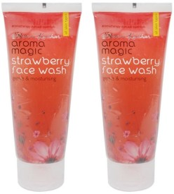 AromaMagic Strawberry (Pack Of 2) Face Wash - 200 Ml