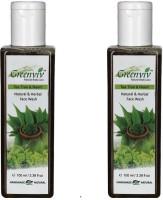 Greenviv Natural Neem & Tea Tree  Face Wash (200 Ml)