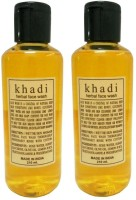 Khadi Herbal Pack Of 2 Face Wash (420 Ml)