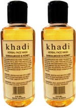 khadi Natural Face Care khadi Natural Sandal & Honey Herbal Face Wash
