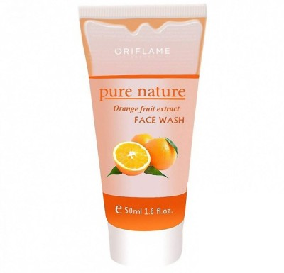 Oriflame Face Washes Oriflame Pure Nature Strawerry Fruit Extract Face Wash