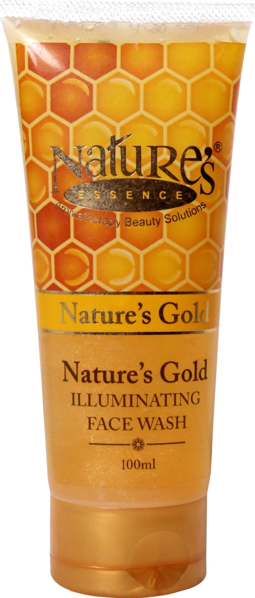 Natures gold facial