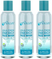 Flocare Aqua Fresh Energy (Set Of 3) Face Wash (300 Ml)