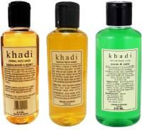 Khadi Herbal Sandalwood, Neem Tulsi Face Wash (630 Ml)
