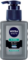 Nivea Men Oil Control All In One  Face Wash (150 Ml)