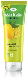 Joy Skin Fruits Fairness Face Wash For Skin Lightening 65ml Each - (Pack Of 2) Face Wash - 65 Ml