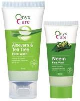 Onyx Care Aloevera & Tea Tree Face Wash (100 Ml)