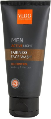 Buy VLCC Men Active Light Fairness Face Wash: Face Wash