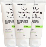 O3+ Hydrating & Soothing Face Wash - Pack Of 3 Face Wash