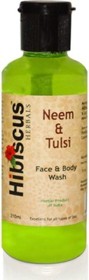 Hibiscus Herbals Face Washes Hibiscus Herbals Neem Tulsi Face Wash
