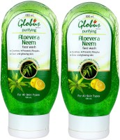 GLOBUS ALOE VERA & NEEM Face Wash (200 Ml)