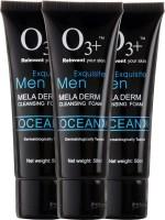 O3+ Men Ocean Mela Derm Cleansing Foam - Pack Of 3 Face Wash