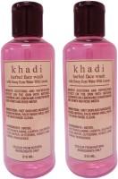Khadi Herbal Honey Rose Water With Lemon Face Wash (420 Ml)