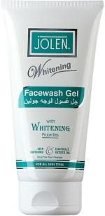 Jolen Face Washes Jolen Facewash Gel Whitening Face Wash