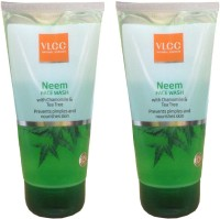 VLCC Neem With Chamomile & Tea Tree (Pack Of 2) Face Wash (300 Ml)