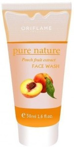 Oriflame Sweden Face Washes Oriflame Sweden Pure Nature Peach Fruit Extract Face Wash