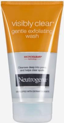 Neutrogena Face Washes Neutrogena Visibly Clear Face Wash
