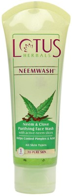 Lotus Herbals Neem & Clove - Purifying Face Wash 120 g