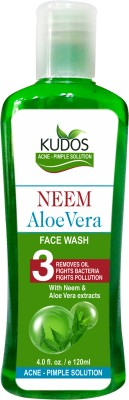 Kudos Face Washes Kudos Neem AloeVera Face Wash
