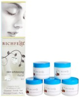 Richfeel Skin Whitening Facial Kit (Set Of 5)