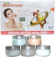 Real Aroma Skin Tightening Facial Kit 5-in-1 740 G (Set Of 5)