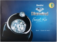 Nandini Herbal Care Nandini Diamond Facial Kit, 370g 370 G (Set Of 5)