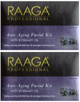 Raaga Professional Anti Aging Facial Kit With Rosemary Oil 43 G (Set Of 7)