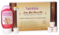 NutriGlow Luster Gold Facial Kit With Free NutriGlow Face Wash 190 G (Set Of 5)