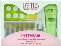 Lotus Herbals Professional Instafair Melanin Control & Skin Lightning Facial Kit 80 G - Set Of 4