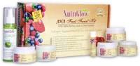NutriGlow AHA Fruit Facial Kit With Free NutriGlow Green Apple Skin Toner 430 G (Set Of 7)