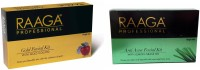 Raaga Professional Combo Of Gold And Anti-Acne Facial Kit 103 G (Set Of 2)