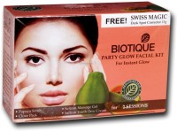 Biotique Party Facial Kit For Instant Glow 60 G (Set Of 4)