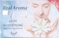 Real Aroma Extra Glowing Facial Kit 740 G (Set Of 5)