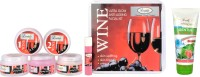 Luster Wine Facial Kit (Skin Rejuvenating & Anti-Ageing) 285 G (Set Of 1)