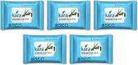 Kara Refreshing Facial Wipes - Aloe Vera & Mint (20 Wipes Per Pack)-Pack Of 5 (Pack Of 100)