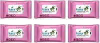 Kara Refreshing Facial Wipes - Aloe Vera & Cucumber (30 Wipes Per Pack)-Pack Of 6 (Pack Of 180)