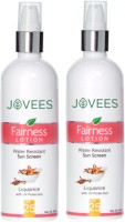 Jovees Fairness Lotion Water Resistant Sun Screen Liquorice With UV Protection SPF-25 (400 Ml)