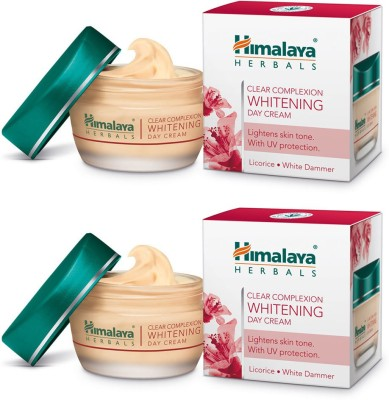 Himalaya Clear Complexion Whitening Day Cream (Pack Of 2) (50 G)