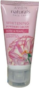 Avon Fairness Avon Naturals Whitening Powdery Cream Rose & Pearl