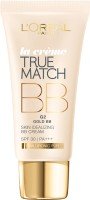 Loreal Paris True Match BB Cream - G2 Gold: Fairness