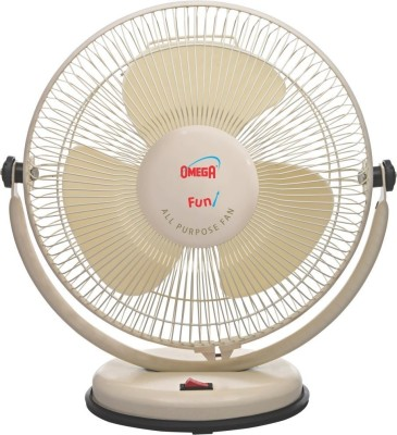 Omega All Purpose 12 inch 3 Blade Table Fan