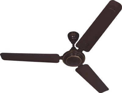 Marc Maxair 900 3 Blade Ceiling Fan Brown available at Flipkart for Rs.1300